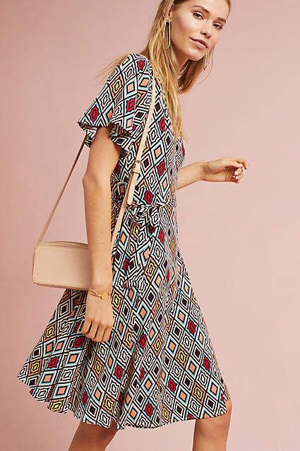 194efdaefddb Porridge Clothing Regina Wrap Dress   Anthropologie   Pinterest ...
