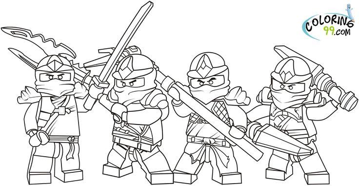 Images Of Ninjago Coloring Pages   LEGO Ninjago Coloring Pages