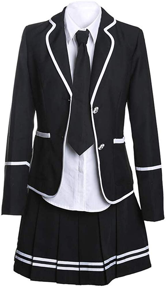 Amazon Com Ursfur School Girl Outfit Japan Korean School Girl Costume Cosplay School Anime Costumes School Uniform Outfits School Girl Outfit Korean Fashion