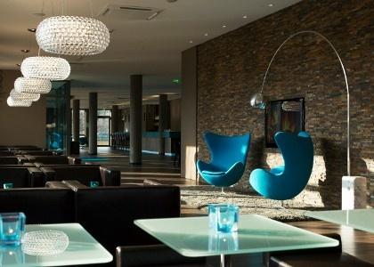 Foscarini Caboche @Jonathan Nafarrete London Motel - Dresden, Germany (http://www.cimmermann.co.uk/product/foscarini_caboche_media_suspension_light/)