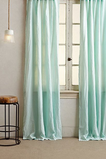 Linen Balsas Curtain - anthropologie.com