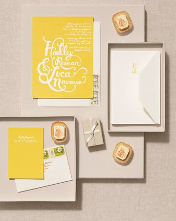 Fairy Tale-Inspired Invitation
