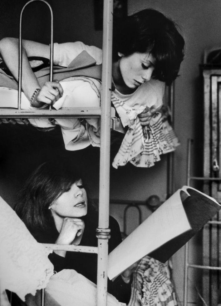 Catherine Deneuve et Françoise Dorléac