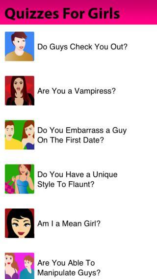 Seventeen dating quizzes