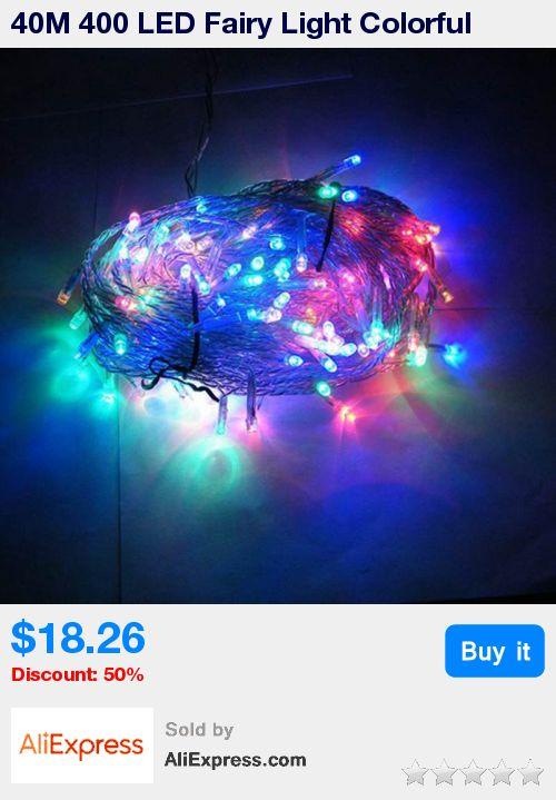 40M 400 LED Fairy Light Colorful Christmas Valentine LED String Light Festival Wedding Party Decor Lamp EU Plug AC220V * Pub Date: 00:19 Apr 5 2017