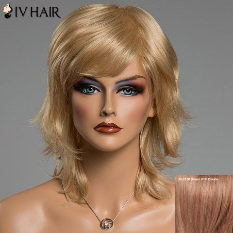 GET $50 NOW | Join RoseGal: Get YOUR $50 NOW!http://www.rosegal.com/human-hair-wigs/fluffy-natural-wavy-siv-hair-677209.html?seid=4695937rg677209