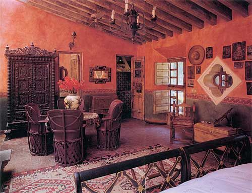 mexican small house