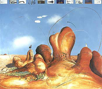 brett whiteley - the olgas