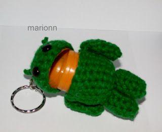 kinder android  - crochet amigurumi