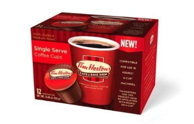 Tim Hortons Single Serve Coffee 96 Count - http://teacoffeestore.com/tim-hortons-single-serve-coffee-96-count/