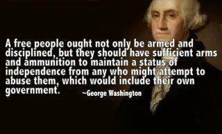 George Washington! wonderful quote!