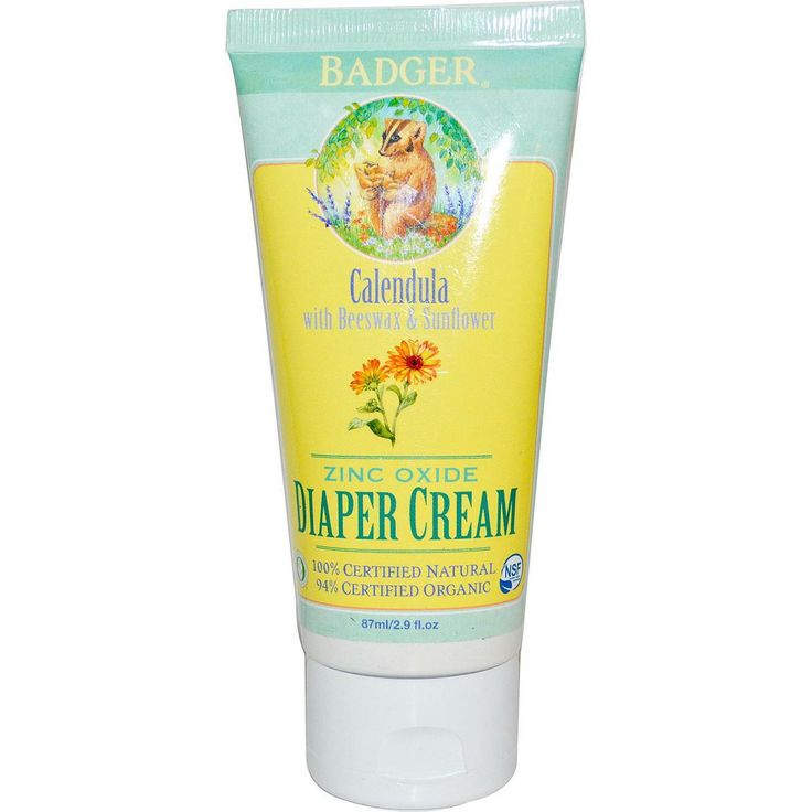 Badger Certified Organic Nappy Cream, $19.95  (http://www.distinctorganics.com/badger-certified-organic-nappy-cream/)