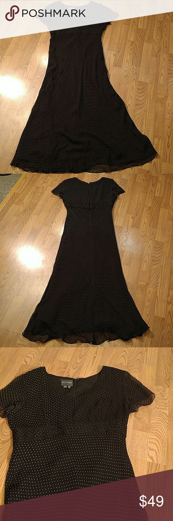 Kay Unger New York Silk black Dress Kay Unger New York Dress 100% silk, classy, EUC Kay Unger Dresses