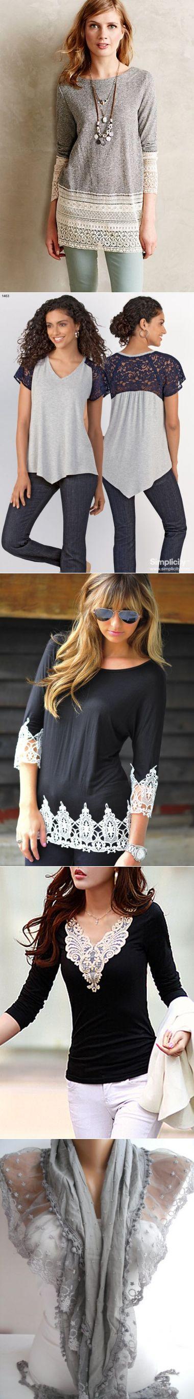 lace blouse shirt change...♥ Deniz ♥