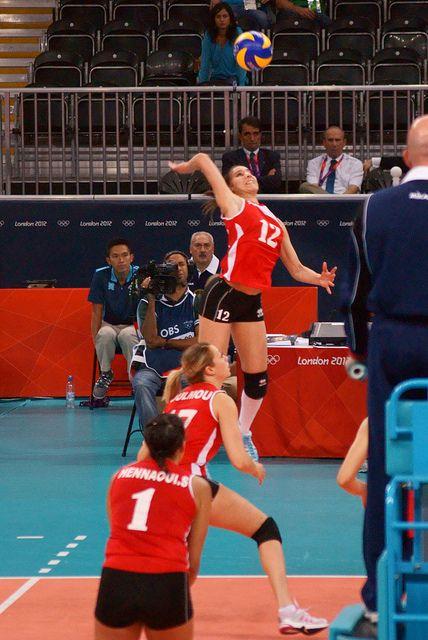 Olympic Women's Volleyball - Team GB vs Algeria by littledutchboy, via Flickr