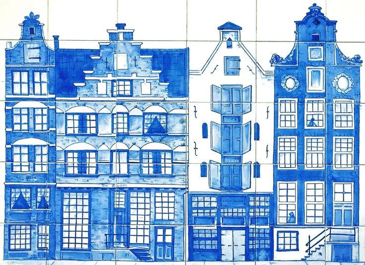 Cuatro casas de Holanda