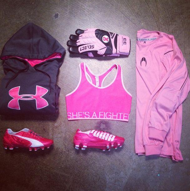 #ShesAFighter #Pink #Soccer