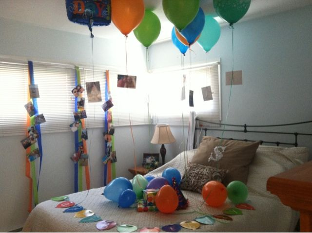 17 Best Ideas About Husband Birthday Surprises On