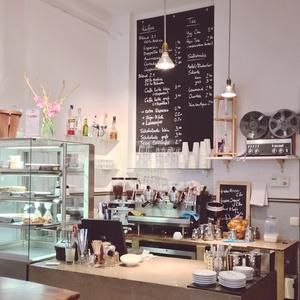Black delight, another coffee place in Hamburg