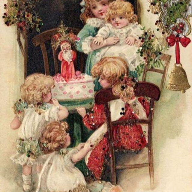 Нижнего, открытки с новым годом декупаж