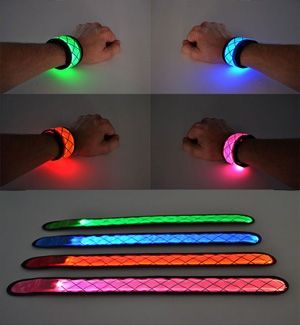 LED slap bracelets ~ I use these around the bars of my wheelchair for nighttime safety and visibility. Sometimes on my wrists whilst wheeling if it is really dark outside.