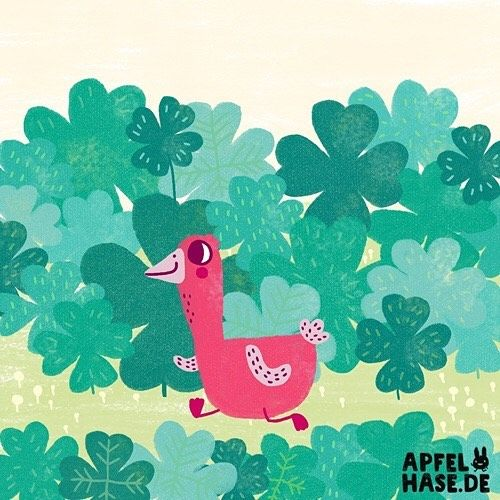Gans im Glück. #365doodlesmitjohanna #glück #kleeblatt #glücksklee #luck #lucky #clover #fortune #green #nature #gans #goose #cute #animals #happy #illustration #illustratorsofinstagram #draw #drawing #daily #dailyart #doodle #apfelhase #zeichnen #kidsillustration