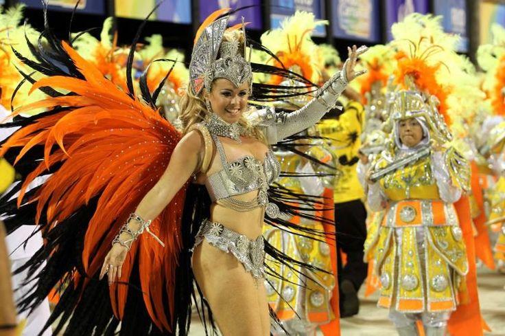 Carnival costume from the São Clemente samba school 2012