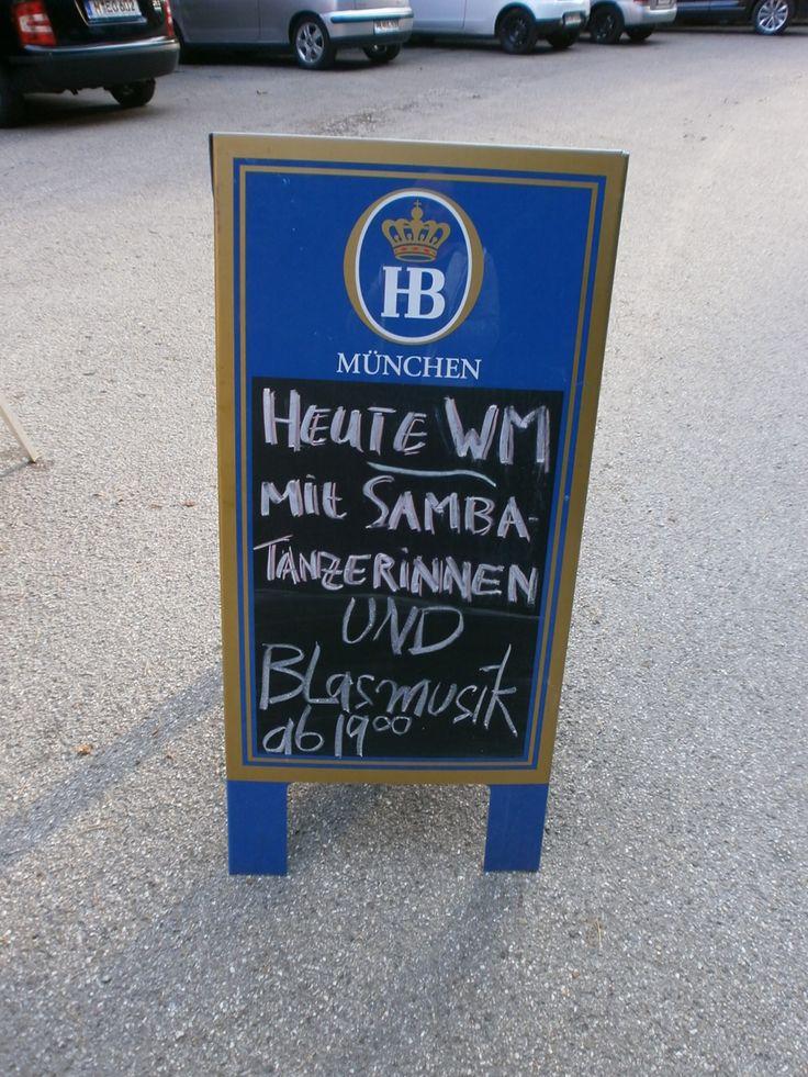 WM Party mit Samba und Blasmusik