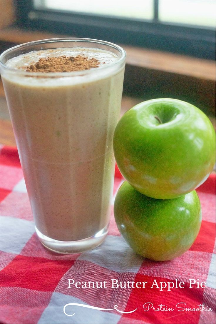 I just love fall because apples are in season. Check out this peanut butter apple pie protein smoothie recipe using Mighty Nut Powdered Peanut Butter for an easy and yummy snack, dessert or meal replacement this season #ad