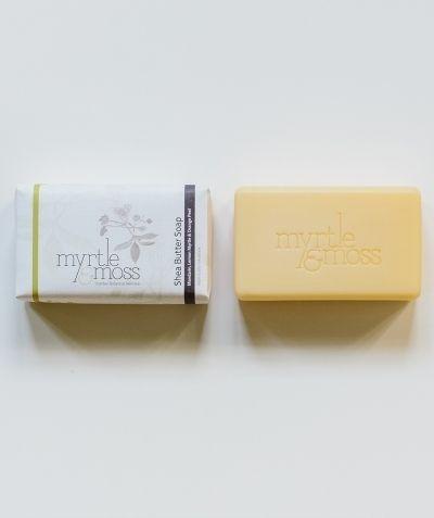 Soap - Mandarin, Lemon Myrtle and Orange Peel - White Apple Gifts