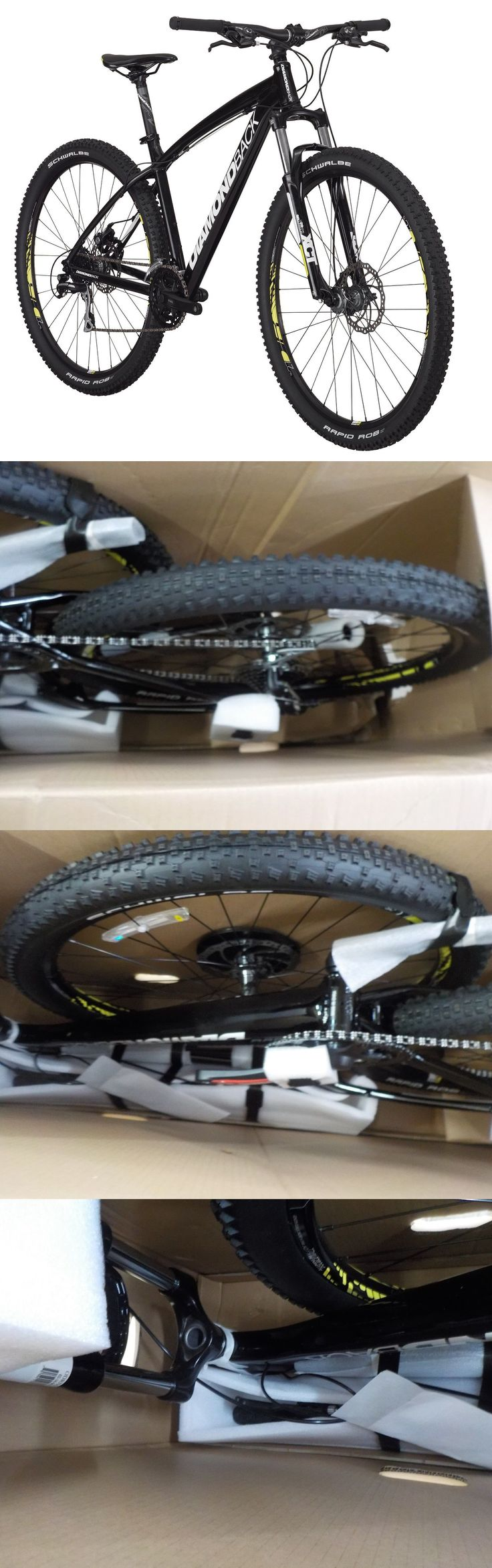 bicycles: Diamondback Overdrive 29 Hardtail Mountain Bike, Black (27.5-Inches) BUY IT NOW ONLY: $520.0
