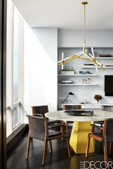 House Tour: Michael Bloombergu0027s Favorite Designer Gives A Central Park  Apartment Some Edge