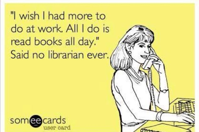 Librarian humor                                                                                                                                                     More