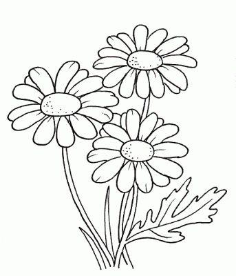 moldes de flores para pintar
