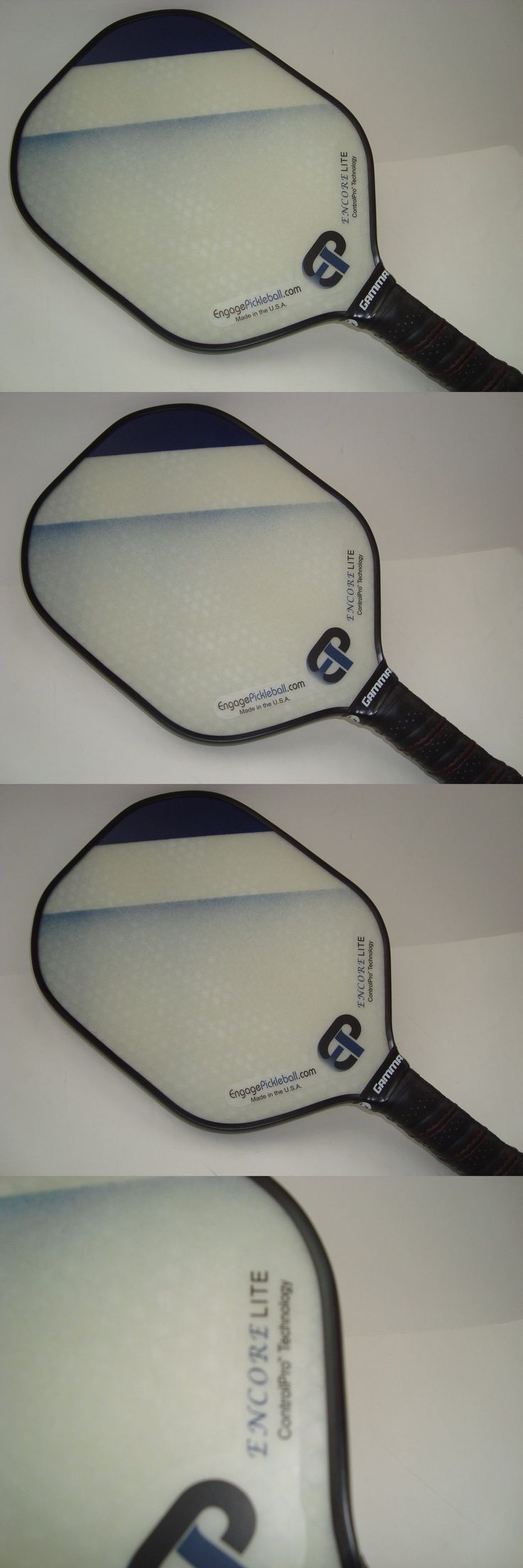 Other Tennis and Racquet Sports 159135: Super New Engage Encore Lite Pickleball Paddle Super Light And Quick Blue Fade -> BUY IT NOW ONLY: $79.0 on eBay!