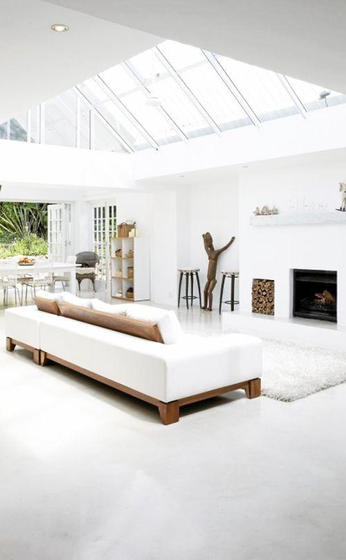 Living room, roof window