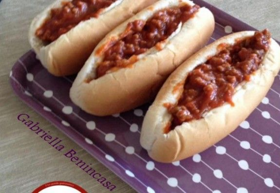 Sloppy Joe di Gabriella Benincasa - Ricette - Cookkando In Cucina Facile FacileRicette – Cookkando In Cucina Facile Facile