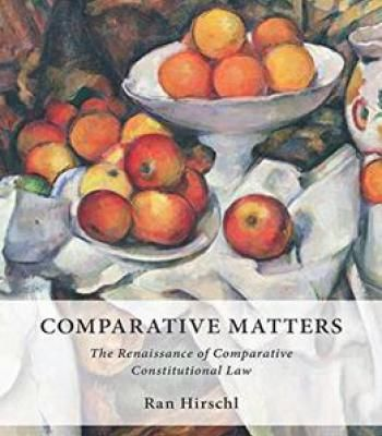Comparative Matters: The Renaissance Of Comparative Constitutional Law PDF
