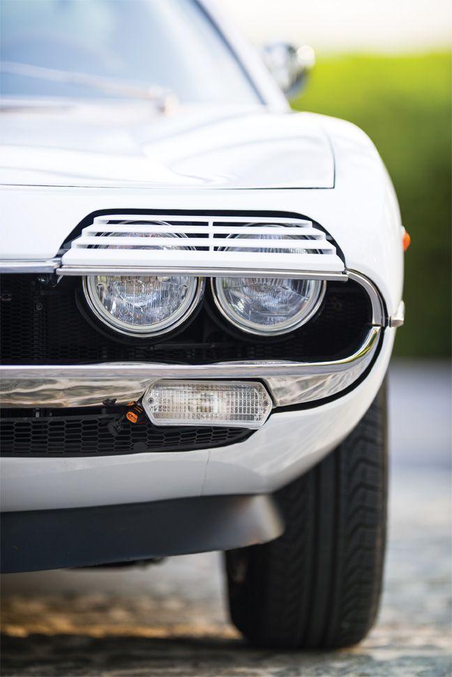 Alfa Romeo Montreal : Tout le style des années 70.