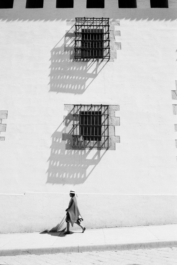 "1987. Ferrante Ferranti à la Maison Européenne de la Photographie : ""Casa de la moneda"", Potosi, Bolivie. © Ferrante Ferranti"