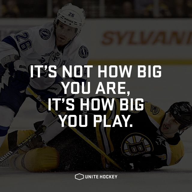 #BeOne #motivational #hockey