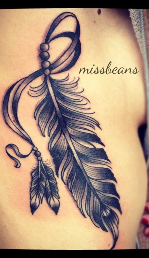 Feather Tattoo big design