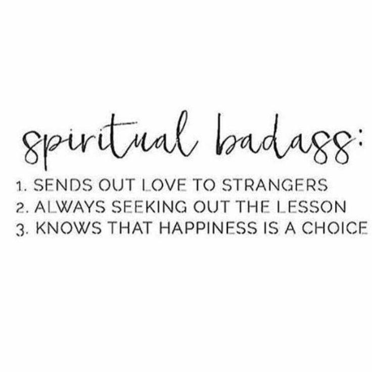 Spiritual Badass