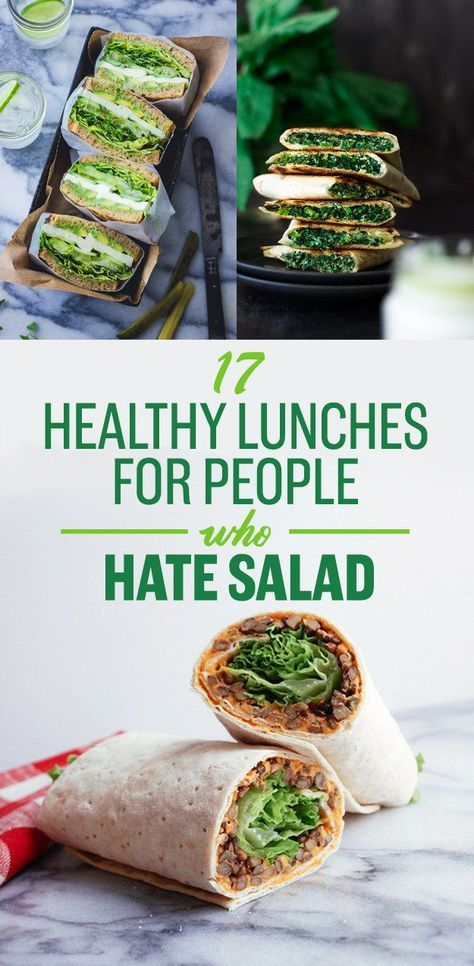 17 Healthy Lunches For People Who Hate Salad