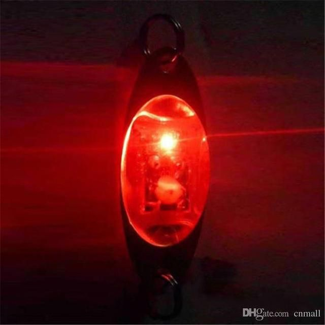 FLASH LAMP 6 CM/ LED DEEP DROP UNDERWATER EYE SHAPE FISHING SQUID FISH LURE LIGHT