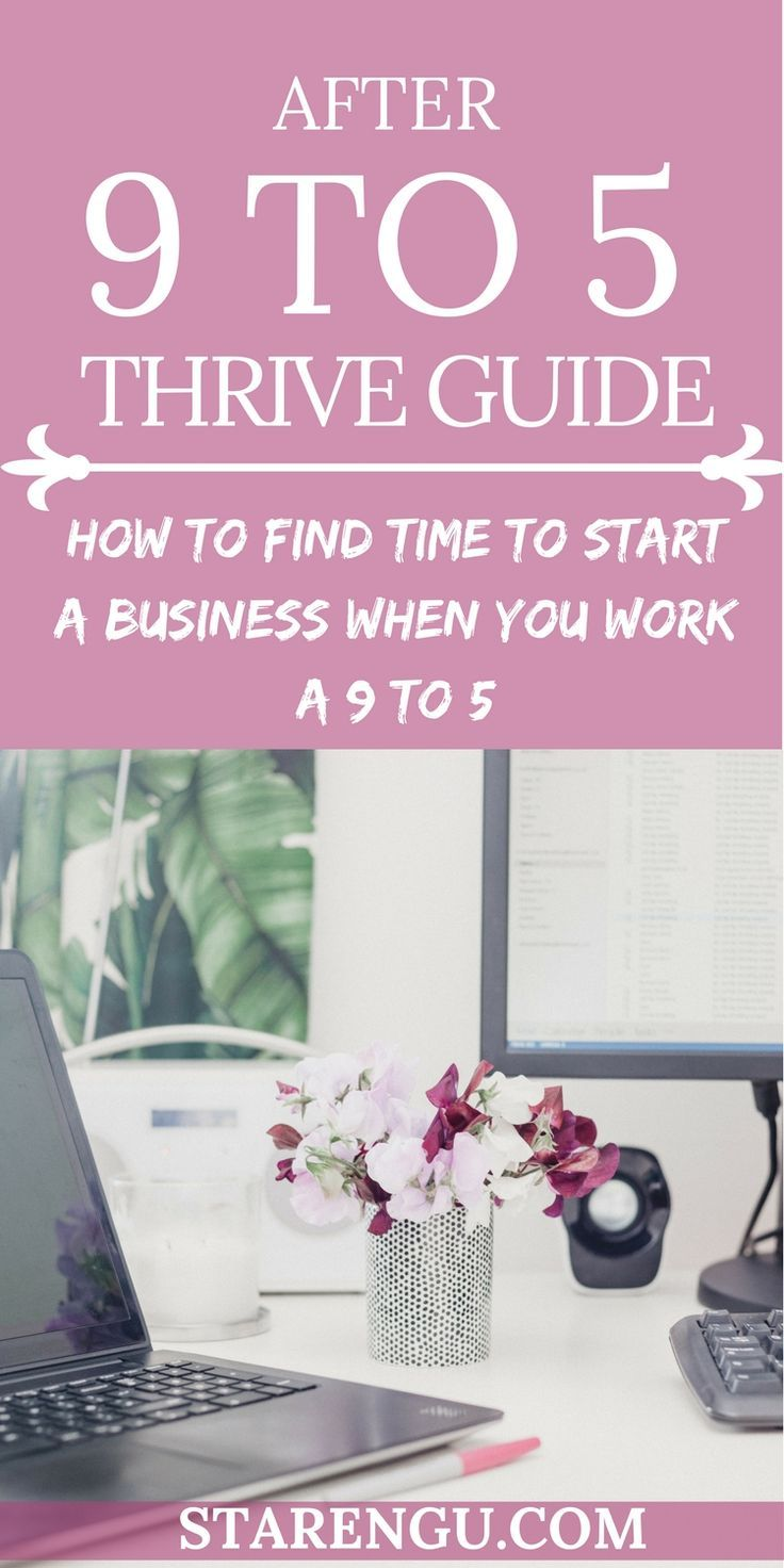 Starting a business when you work a 9 to 5 is going to be difficult, but it is not impossible. Learn how to make the most of your spare time so you can start your own online business while you working a 9 to 5.