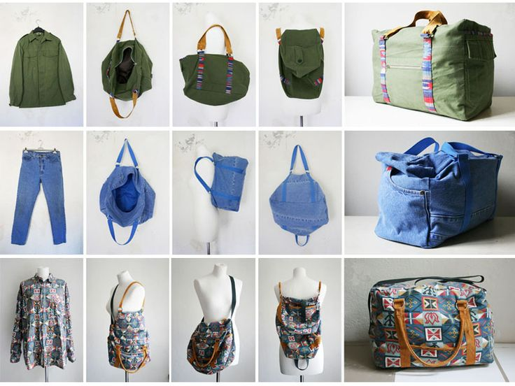 awesome recycled bags