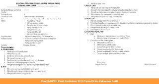 paud.blogedukasi.com - Contoh RPPH Paud Kurikulum 2013 Tema Diriku Kelompok A &B