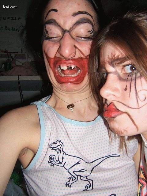 Makeup Fails Ugly Makeup: 1000+ Images About Makeup Fails On Pinterest