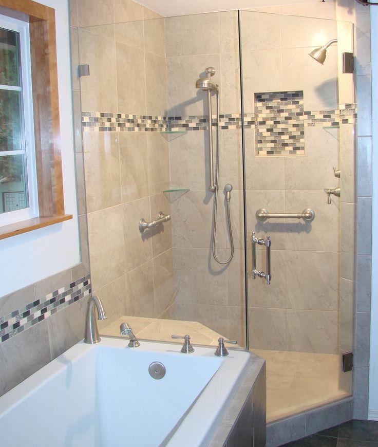 25 B Sta Id Erna Om Tub Shower Combination P Pinterest
